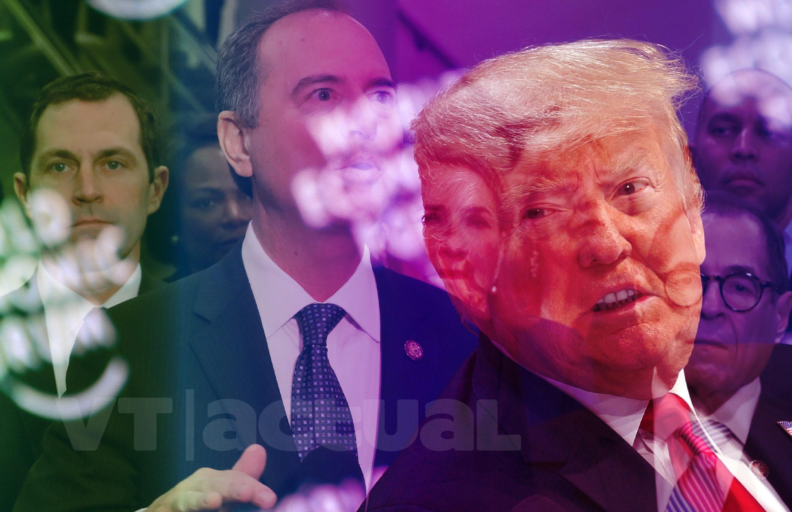 Demócratas brindaron sus alegatos en juicio contra #DonaldTrump / Foto: VTactual