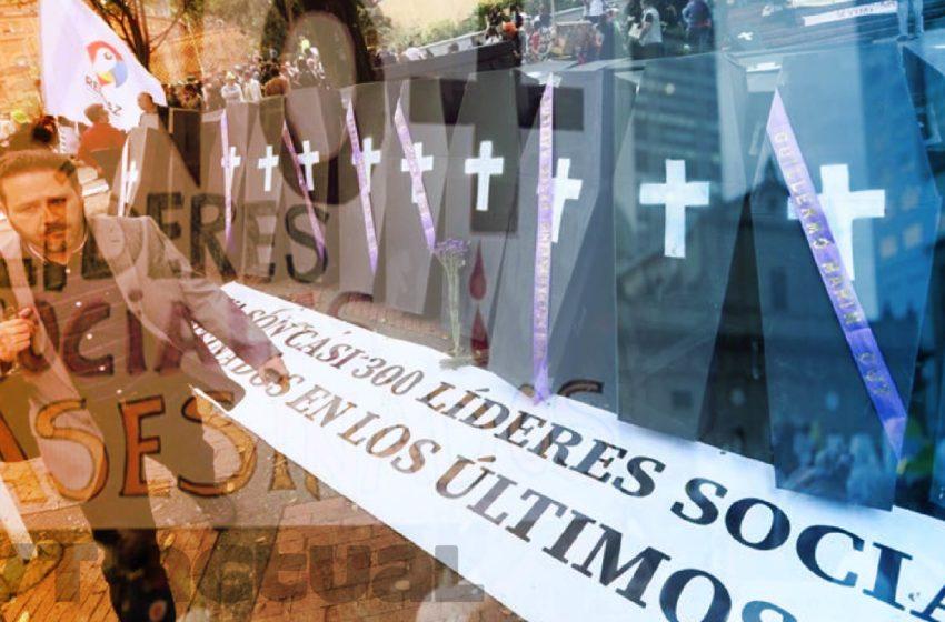 Asesinan a un líder social al día en Colombia
