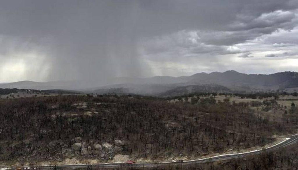 Las tormentas en Australia ayudan a extinguir las llamas