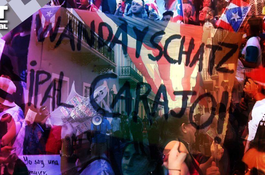 Puertorriqueños retoman las calles para exigir la renuncia de la Gobernadora