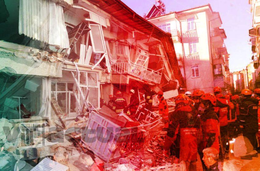 Aumentan las cifras mortales tras terremoto en Turquía