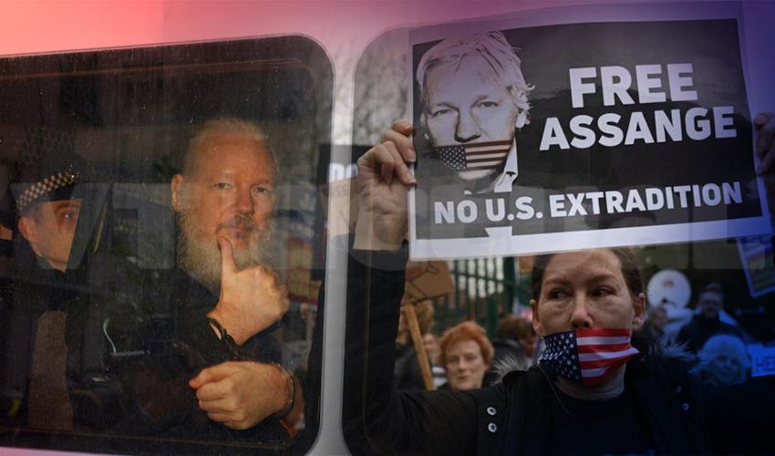 Inicia el juicio de extradición a Julian Assange