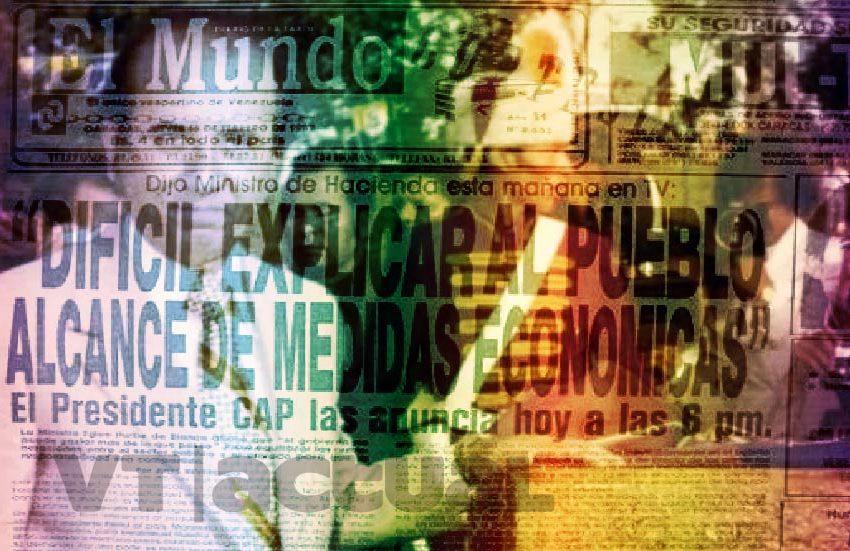 #Impropios Carlos Andrés Pérez: el retrato de la traición