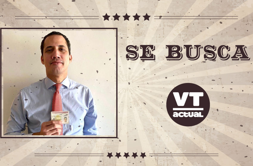 "#VTmeme Juan Guaidó se saca su foto de ""Se Busca"""