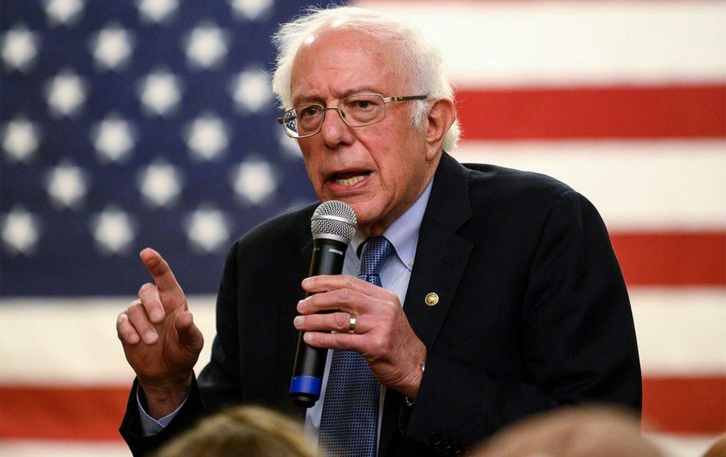 """Bernie Sanders se posiciona con escaso apoyo del """"establishment"""""""