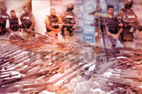 Contrabando de armas de EEUU a México exacerba la violencia / Foto. VTactual