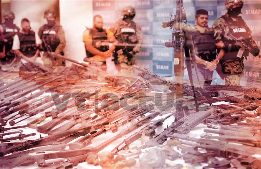 Contrabando de armas de EEUU a México exacerba la violencia