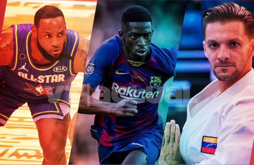 #VTenLaJugada NBA tributa a Kobe, el sustituto de Dembelé y Antonio Díaz viaja a Tokyo