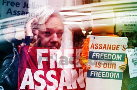 """#VTanálisis: Arranca en Londres el """"espectáculo"""" de la extradición de Julian Assange / Foto: VTactual"""