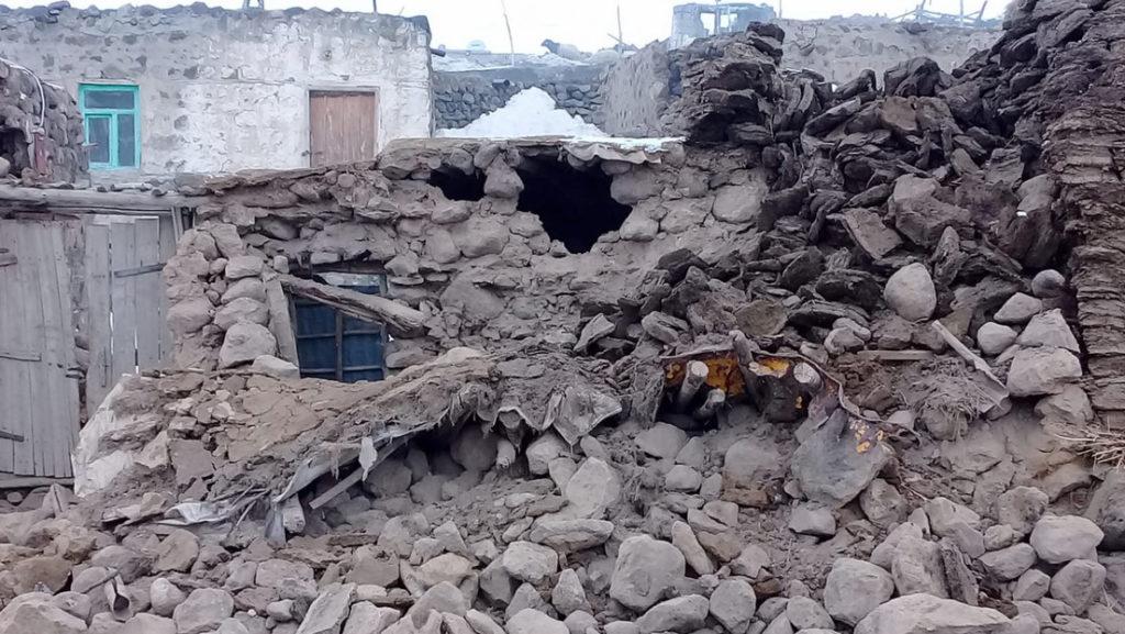 Terremoto de 5,7 de magnitud asoló la frontera turco-iraní