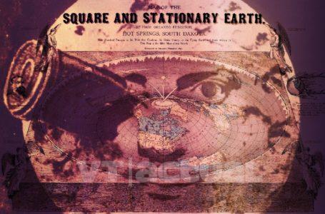 Mapa de la tierra según los terraplanistas