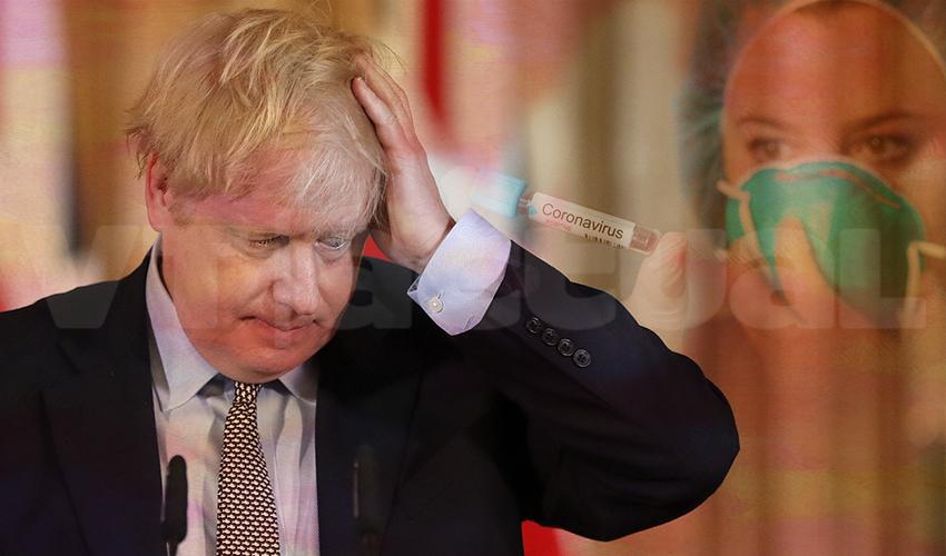 Boris Johnson, el primer incrédulo infectado de coronavirus