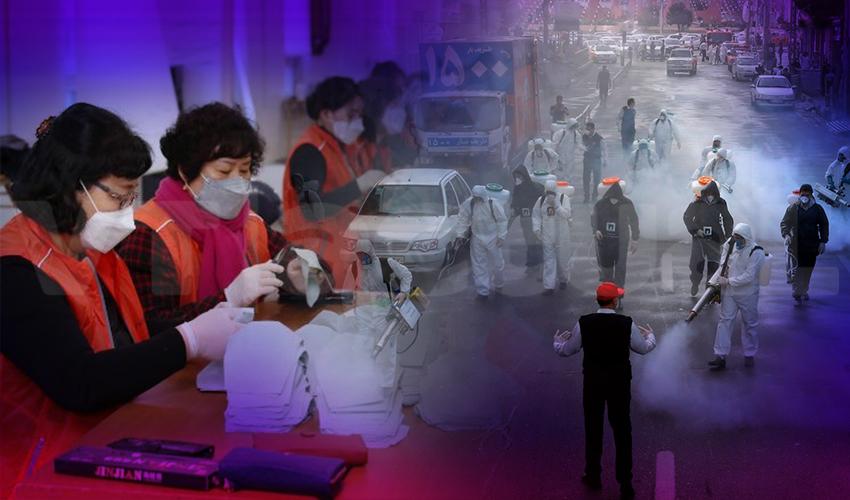 China se solidariza con Irán, Italia y SurCorea por crisis del coronavirus