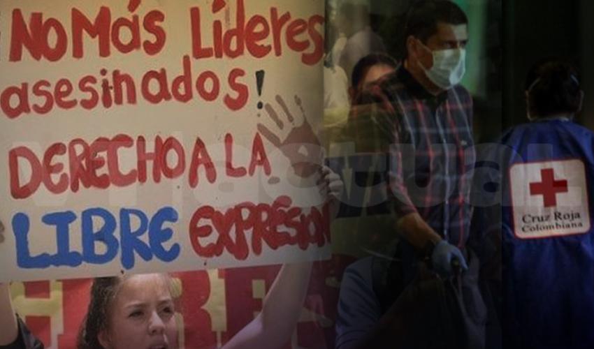 Colombia: con fachada de Coronavirus desaparecen líderes sociales