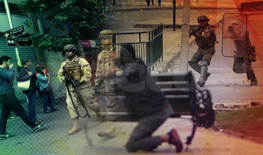 Chile decreta estado excepcional de catástrofe por 90 días: Más represión