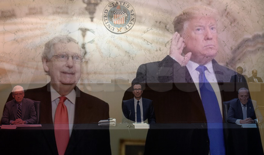 Humo Blanco en el Congreso de EEUU sobre el Plan de Rescate