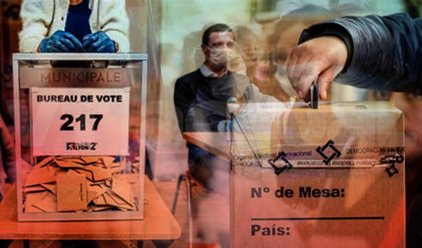 Los procesos electorales tampoco escapan del Covid-19