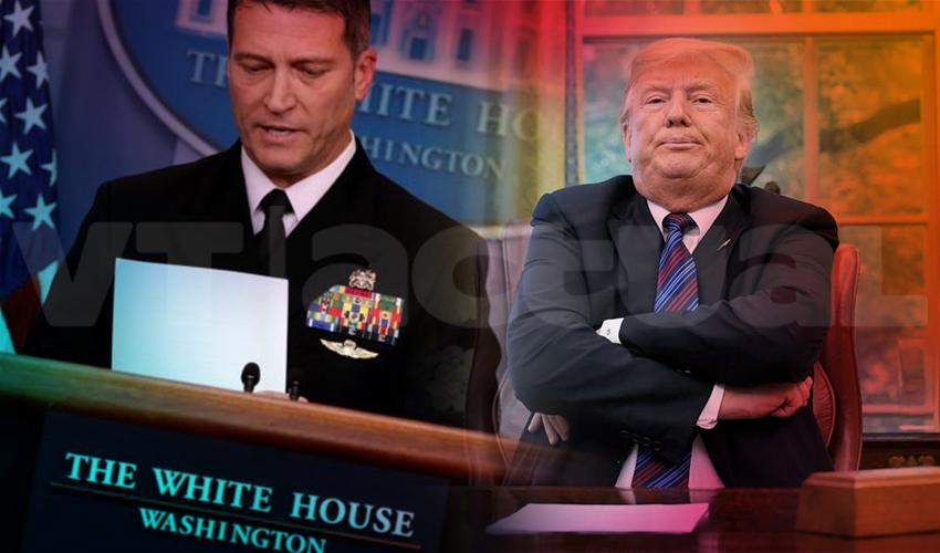 Médico de #DonaldTrump afirma que éste no requiere prueba ni cuarentena