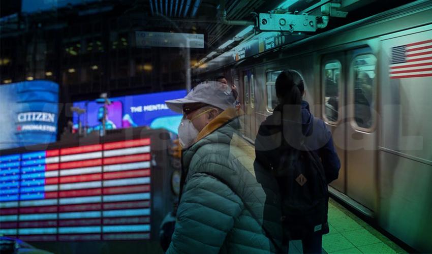 Nueva York, del centro mundial del capitalismo al foco global del covid-19