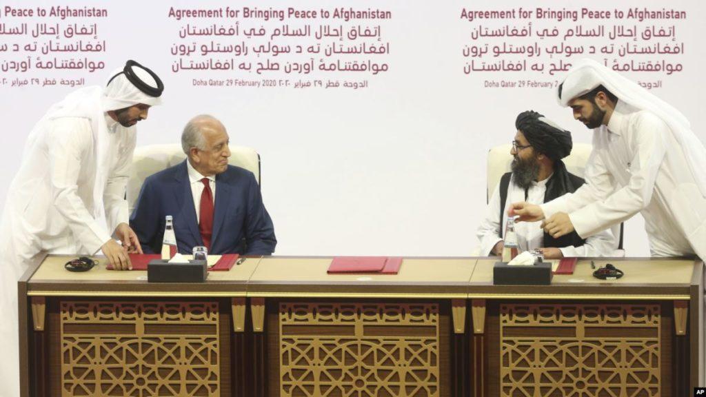 Surgen serios cuestionamientos al reciente acuerdo de EE.UU y los talibanes