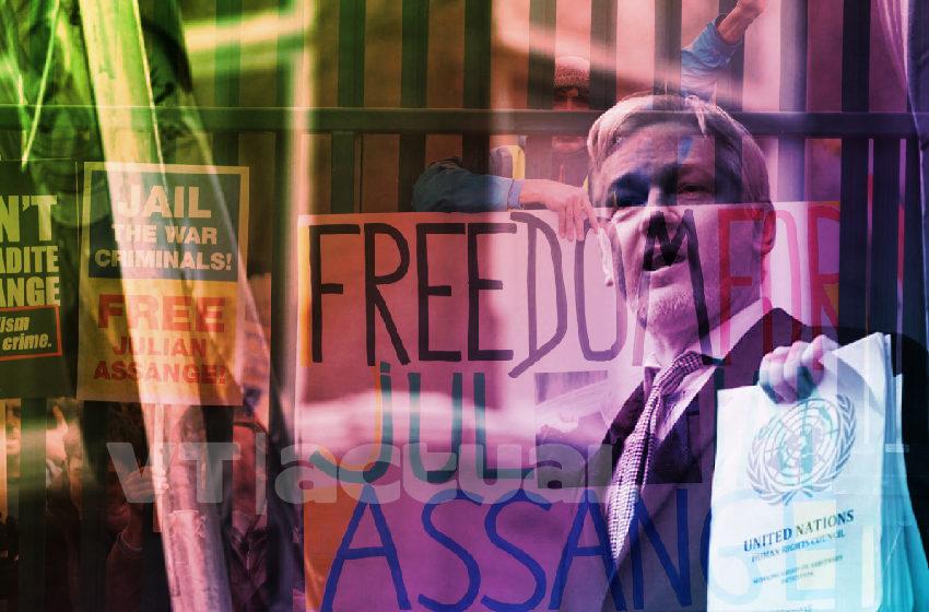 #VTpersonajes Julian Assange el enemigo número 1 de Estados Unidos