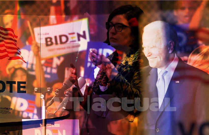 Biden se alza con el liderato demócrata