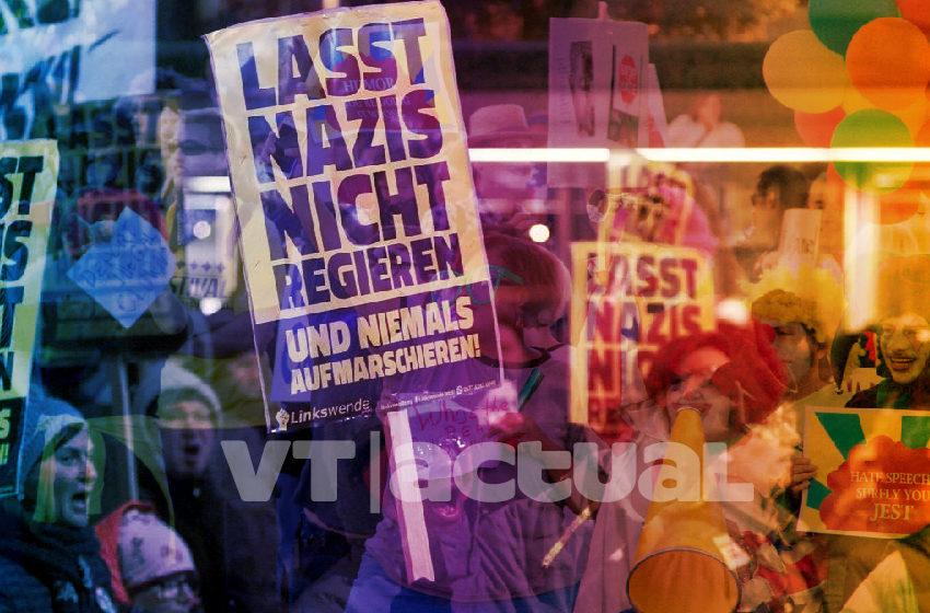 """#VTanálisis """"Sin pacto con fascistas"""": alemanes le plantan cara al nazismo"""