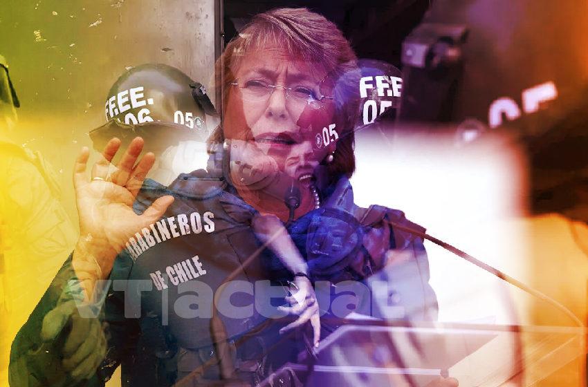 La comisionada Bachelet: cuando los DDHH se despachan a conveniencia