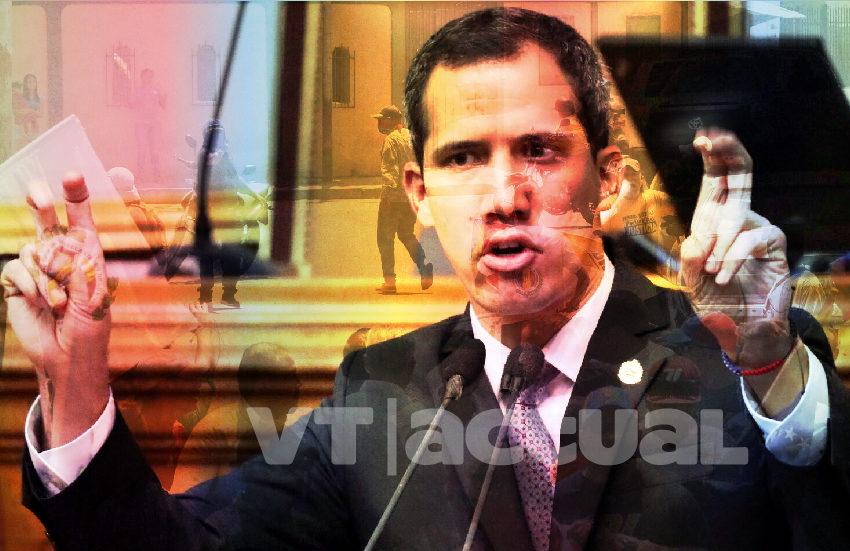"Desmontan ""show pistolero"" de Guaidó"