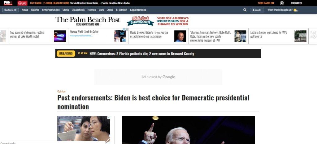 Diario anticubano de Florida llama a rechazar a Bernie Sanders