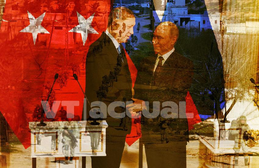 Siria: Putin y Erdogan acuerdan soluciones para Idlib
