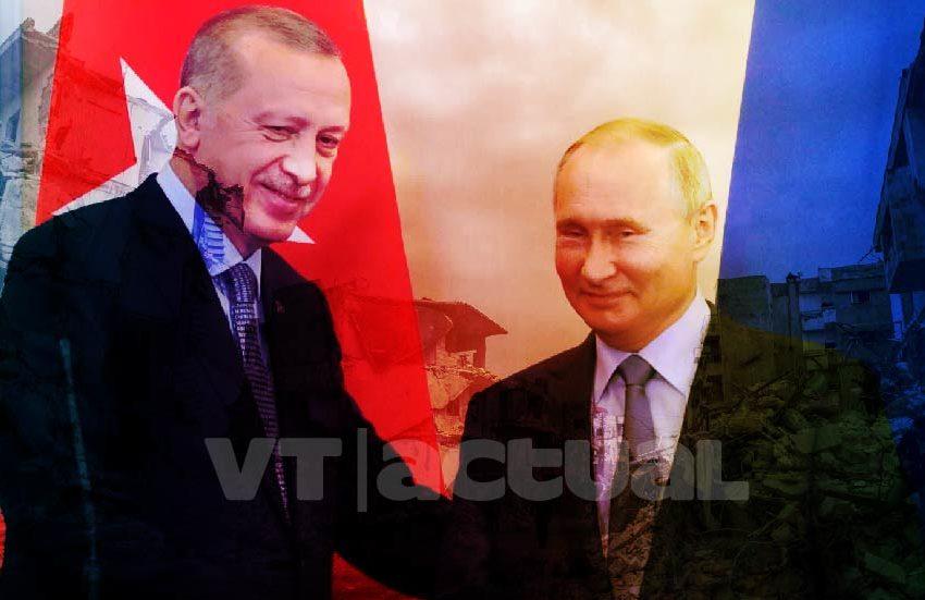 Putin y Erdogan buscan un alto al fuego en Siria