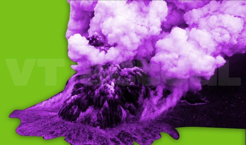 Anak Krakatau: así entró en erupción este volcán en sábado santo +Fotos