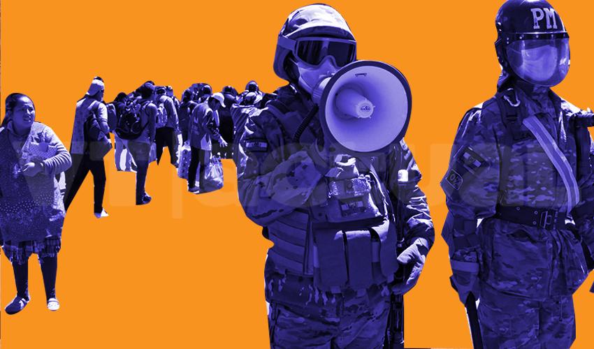 Bolivia: el ejército se despliega para hacer cumplir confinamiento + Fotos