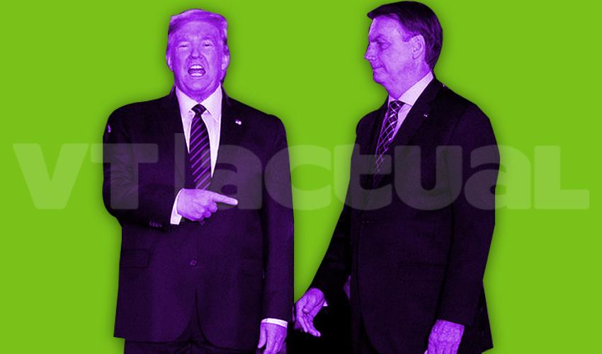 Dime con quién andas: Trump y Bolsonaro hablan de cooperación ante el Coronavirus