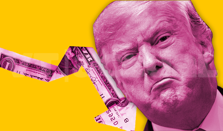 Fortuna de Trump sucumbe al coronavirus