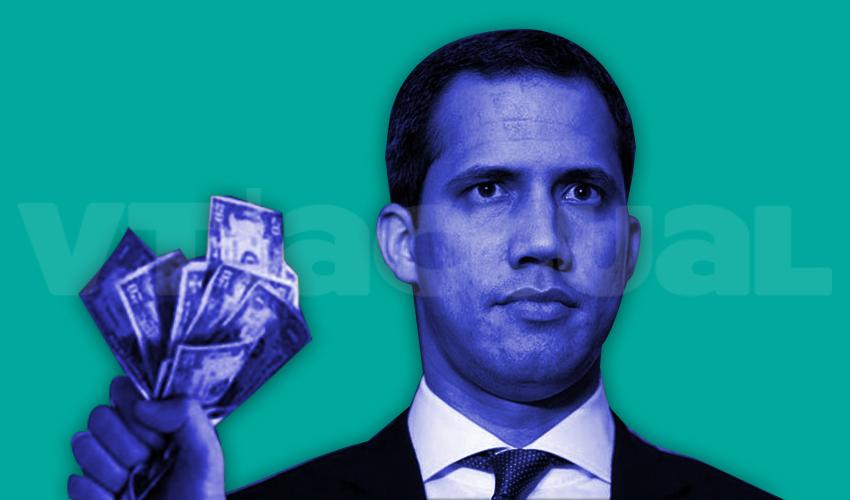 5.000 dólares mensuales cobrarán diputados de Guaidó con recursos despojados al BCV