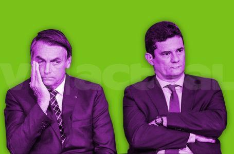 Pugna entre Sergio Moro y Jair Bolsonaro abre nueva crisis política en Brasil / Foto: VTactual