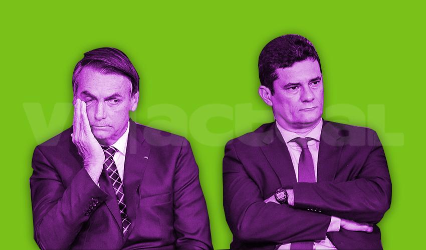 Pugna entre Sergio Moro y Jair Bolsonaro abre nueva crisis política en Brasil