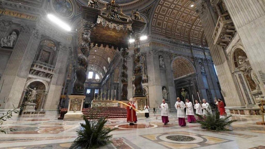 Semana Santa sin fieles en los templos: La oración en tiempos de cuarentena