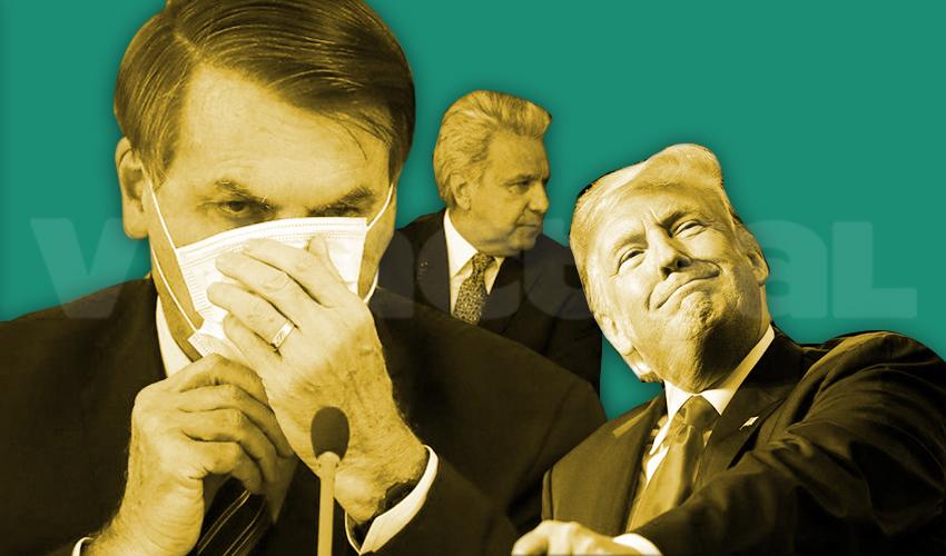 7 acciones de presidentes que pasarán a la historia del ridículo en materia de Covid-19
