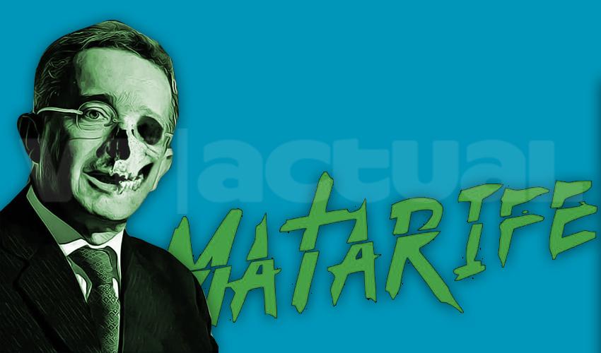 Matarifeː la historia 2.0 sobre un genocida llamado Álvaro Uribe Vélez