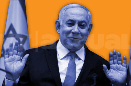 Netanyahu evade sus responsabilidades y acusa la izquierda de llevarle al banquillo / Foto: VTactual