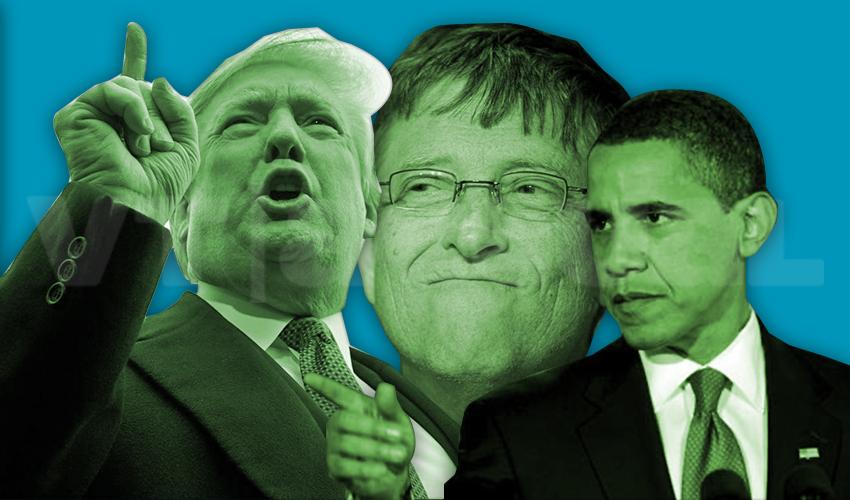 #VTanálisis Trump, Obama y Bill Gates en un reality show: «¿Quién quiere ser millonario?»