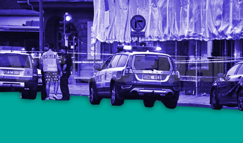 Un tiroteo viralizado en las redes sociales consterna a la policía de Estocolmo