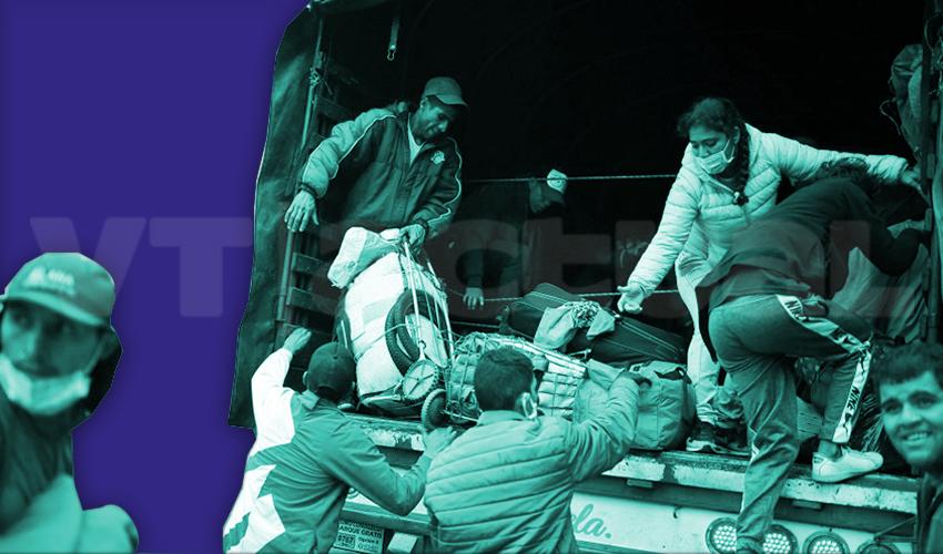 #VTanálisis Vuelven a la Patria con el Coronavirus en la maleta