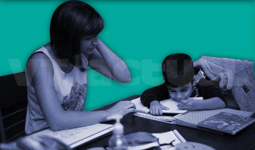 #VTcrianza Sobrellevando el «efecto padres» en la educación en cuarentena