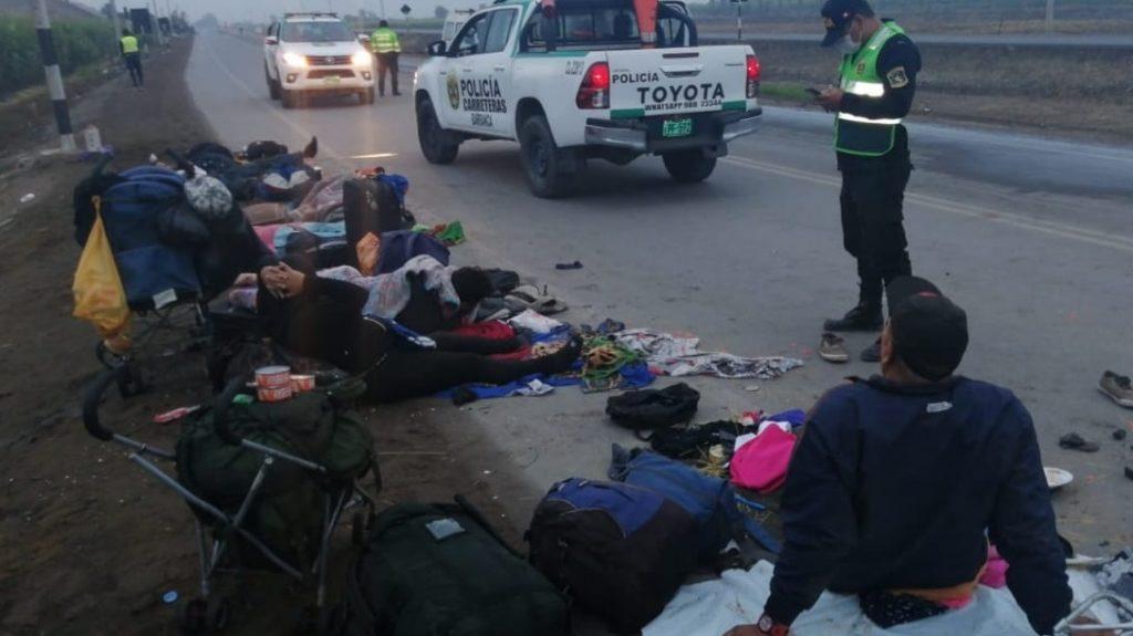 Xenofobia arrasó la vida de tres venezolanos en una carretera peruana