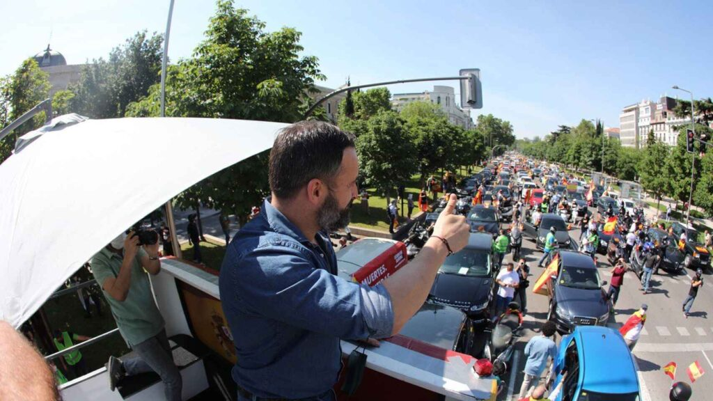 La ultraderecha española desafía al Covid-19 para ganar espacios en las calles