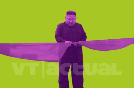 Ni muerto ni enfermo reapareció Kim Jong-un en un acto de gobierno cerca de Pionyang / Foto: VTactual